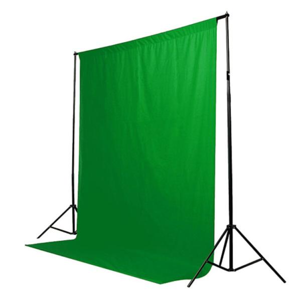 فون بک گراند سبز کروماکی مخمل ۵×۳ متر
