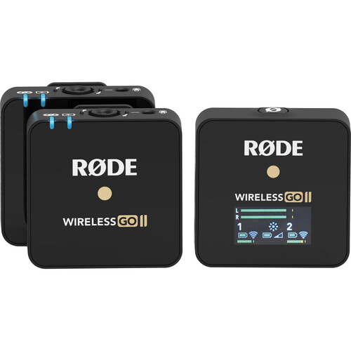 میکروفون بی سیم Rode Wireless Go II