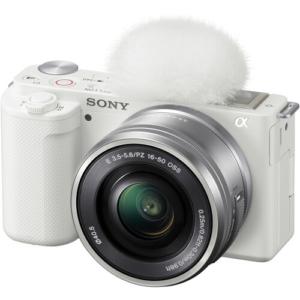 دوربین سونی Sony ZV-E10 Mirrorless with 16-50mm (White)